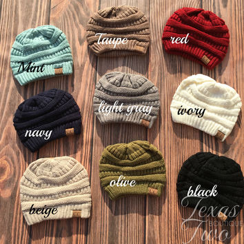 CC  Knit Beanie (Choose Your Color)