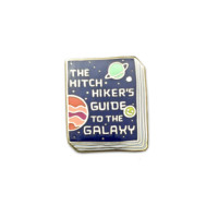 Hitchikers Guide to the Galaxy Book Pin