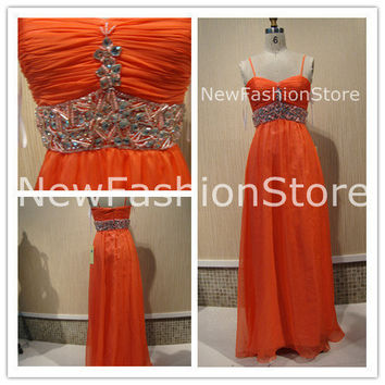 Sweetheart Neckline Removable Straps Beading Floor Length Prom Dress
