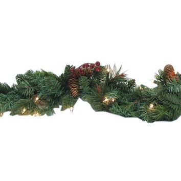6' Donner Pine Lighted Garland | Shop Hobby Lobby
