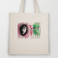 """The Past Stays with You: Harry Potter"" Tote Bag by Trinity Bennett 