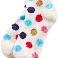 Lambie Count Sheep Slippers - Small/Medium Cream