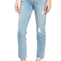 MOTHER The Flirt Ankle Slim Jeans (Thanks for Nothing) | Nordstrom