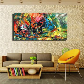 Wild The Boat Race Wall Oil Painting Prints On Canvas