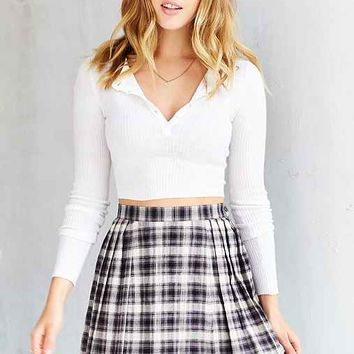 BDG Corey Pleated Skirt