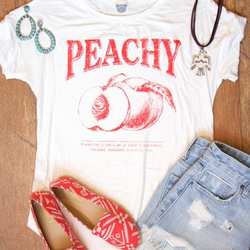 Peachy Vintage Graphic Tee