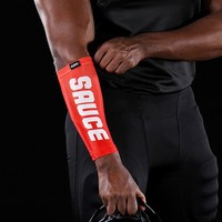 Sauce Red Forearm Compression Sleeve