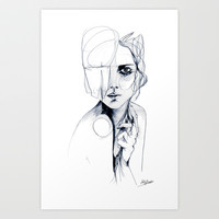 Sketch V Art Print by Holly Sharpe