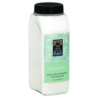 One With Nature Bath Salts - Dead Sea Mineral - Eucalyptus - 32 Oz