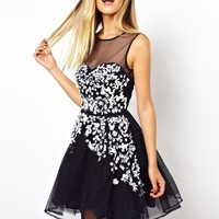 ASOS Embellished Floral Dress