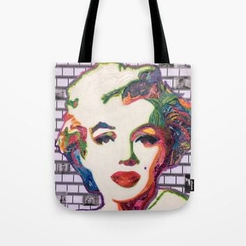 Marilyn Tote Bag by kathrynkearny