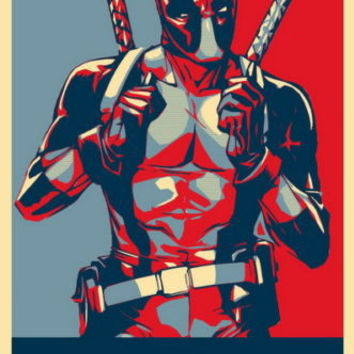 "Deadpool - Special Soldier 20""x30"" Wall poster Suck it"