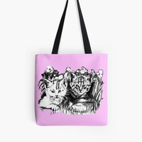 'Pink Baby Cats ' Tasche by GittaG74