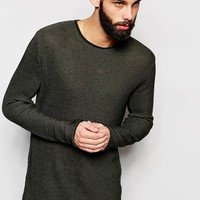 River Island Ribbed Knit Jumper