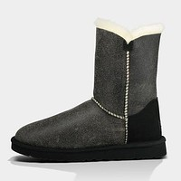 UGG Fashion Women Fur Leather Wool Snow Boots Shoes
