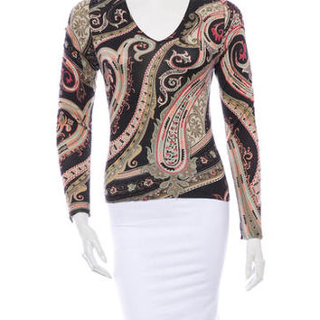 Etro Silk Sweater