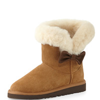 Kids' Kourtney Suede Boot, Chestnut, 13T-6Y - UGG Australia - Chestnut