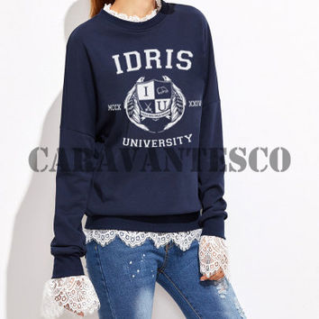 Idris University Sweatshirt - Idris University Unisex Sweatshirts