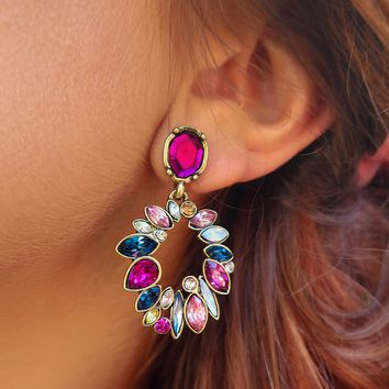 Full Of Color Earrings: Multi