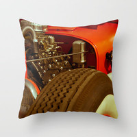 Rat Is Where It's At Throw Pillow by Upperleft Studios | Society6
