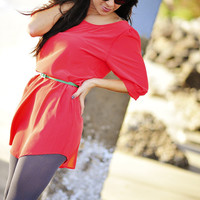 Angels On Earth Dress: Coral   Hope's