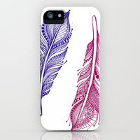 Feathered iPhone Case by Trina Ko | Society6