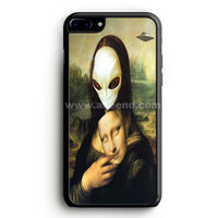 Mona Lisa Alien iPhone 7 Plus Case | aneend