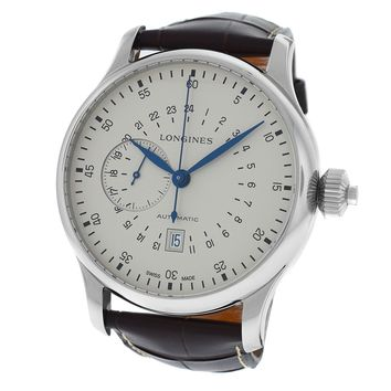 Longines Heritage swiss-automatic mens Watch L27974730 (Certified Pre-owned)