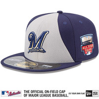 Milwaukee Brewers Authentic Collection All-Star Game Diamond Era On-Field 59FIFTY Cap with 2014 All-Star Patch - MLB.com Shop