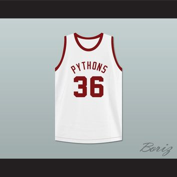 Benny Rae 36 Pittsburgh Pythons Basketball Jersey The Fish That Saved Pittsburgh