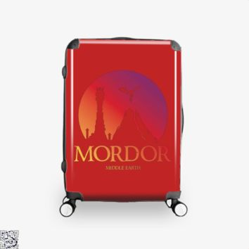 Visit Mordor, Lord Of The Rings Suitcase