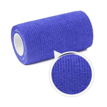 6 Rolls 10cm x 4.5m Waterproof Self Adhesive Elastic Bandage. Muscle Tape, Finger Joints Wrap. Therapy Bandage Care Tape