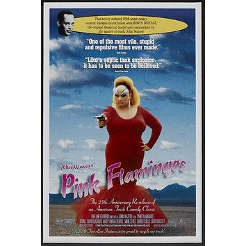 Pink Flamingos Poster//Pink Flamingos Movie Poster//Movie Poster//Poster Reprint