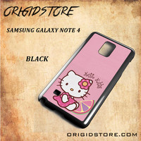 Hello Kitty Pink Lemon For Samsung Galaxy Note 4 Case - Gift Present Multiple Choice