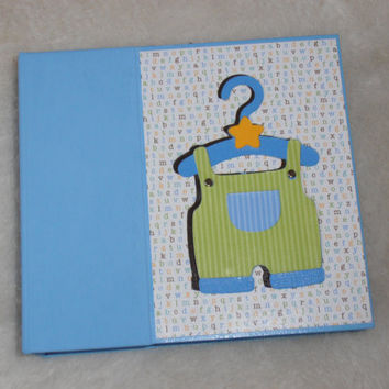 6x6 Baby Boy Scrapbook Album Photo Album