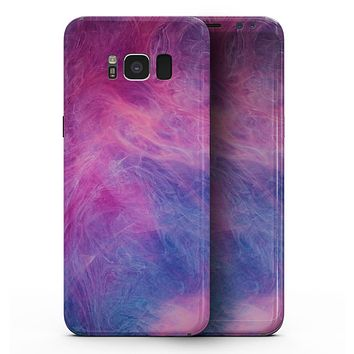 Pink and Blue Fume Clouds - Samsung Galaxy S8 Full-Body Skin Kit