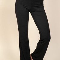 Stretch It Out Flare Leggings Black