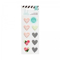 Heidi Swapp Hello Beautiful Puffy Heart Stickers 369947