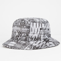 Lrg Bizmark Mens Reversible Bucket Hat Black One Size For Men 25122210001