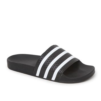 Adilette Slide Sandals - Mens Sandals - Black