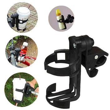 Rotatable Baby Stroller Parent Console Organizer Cup Holder Bicycle Bottle Cup Rack for Stroller Pushchair Cup Holder