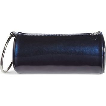 KARA Iridescent Leather Duffel Wristlet Clutch | Nordstrom