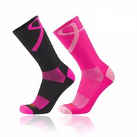 TCK Elite Aware Breast Cancer Ribbon Football, Soccer, Baseball Crew Socks