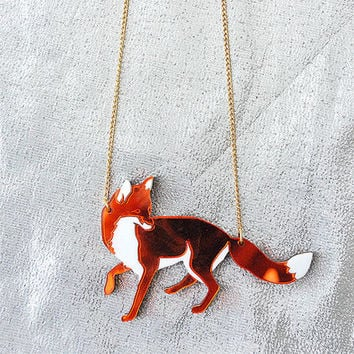 Fox Necklace by Wolf and Moon