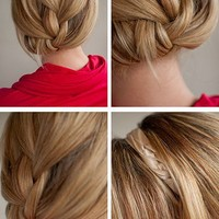 Hair Romance: 30 Days of Twist & Pin Hairstyles – Day 18