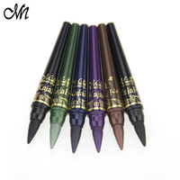 Menow Brand Shadow Pencil Set 6 Color Waterproof Eyeliner Pencil Make Up Eye Liner Crayon Cosmetics Pen Fast Dry Professinal
