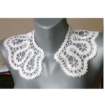 Antique collar lace