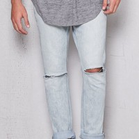PacSun Skinny Ripped Acid Wash Stretch Jeans at PacSun.com