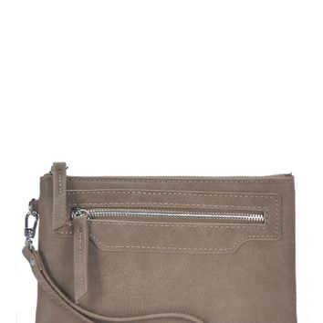 Day Date Clutch - Taupe