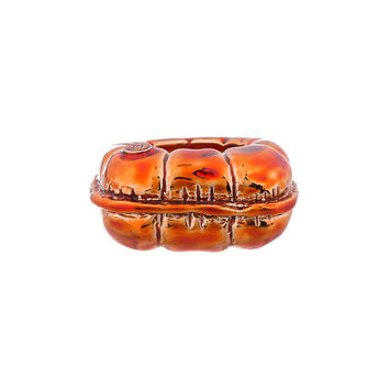 Mm6 Maison Martin Margiela Copper Casted Ring